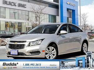 2015 Chevrolet Cruze 1LT 0.9% for up to 24 months O.A.C.! Bi-...