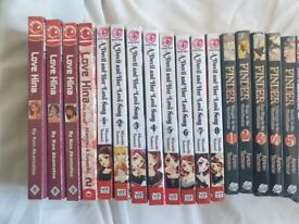 Collection of mixed Manga