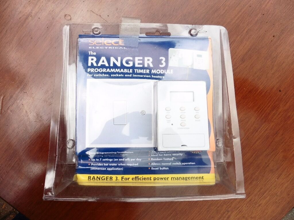 The Ranger 3 Programmable Timer In Norwich Norfolk