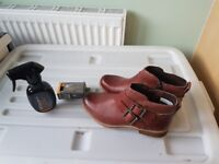 Timberland ankle boots size 4