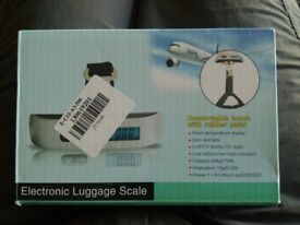Electronic luggage/suitcase scales
