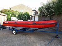 Rib Inflatable Boat