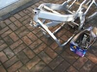 SUZUKI GS 500 EV 1996 P REG FRAME WITH V5C IN MY NAME