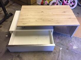 Coffee table and tv stand