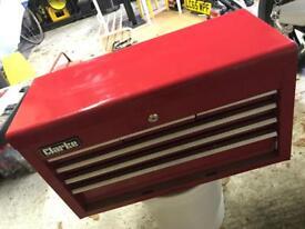 Clarke mechanics 6 drawer steel tool chest - zero tools