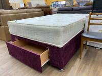 Double bed with 1 drawer