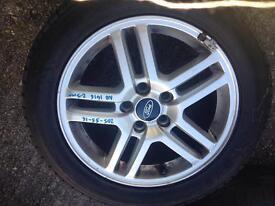 C max alloy with tyre