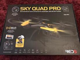 Sky quad pro v2 wifi live feed camera drone quadcopter remote controlled