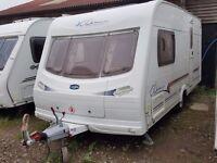 SUPERB 2004 Lunar Clubman 475 2 Berth End Washroom Caravan