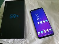 Samsung S9 + Plus 128GB Coral Blue Factory Unlocked with Warranty