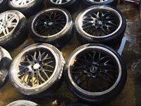 "19"" MK4 GOLF AUDI TT Mk1 A3 CELICA BORA BETTLE SET OF 4 needs tyres"