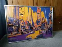 Ikea Times Square Print and Frame