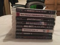 PS3 in great condition with all cables, games and 2 controllers