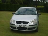 VW Polo 1.2L Petrol, 3 Door, Silver, 2005 (55)