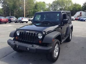 2007 Jeep Wrangler 6 CYL 6 SP. REMOVABLE & TARGA TOP