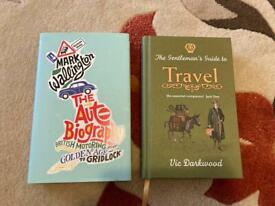 The Gentleman's Guide to Travel and The Autobiography to British Motoring.