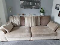 Sofa and Swivel chair for sale.