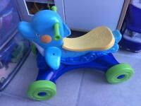 Fisher Price Musical Blue Dolphin Ride On