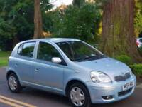 TOYOTA YARIS 1.0L 2004 5DOOR TSPIRIT MOT TILL8/8/2019 12 SERVICES HPI CLEAR EXCELLENT CONDITION