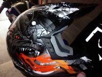 Adult motorbike helmet