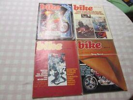 Bike Magazine 1976 11 Issues with Ogri cartoon