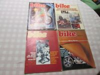 Bike Magazine 1976 11 Issues with Ogri cartoon