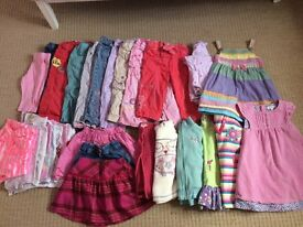 18 to 24 months 1.5 years to 2 yrs trousers t-shirts skirts fleece jacket jumper cardigan dresses pj