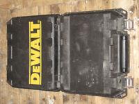 DeWalt cordless drill machine case only