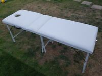 Portable massage/therapy bed