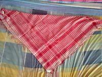 Pink kerchief