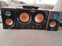 Hipoint audio 2.1 speaker system