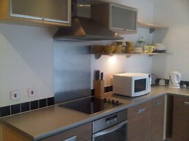 Double room in York 2 bed top floor flat furnished parking