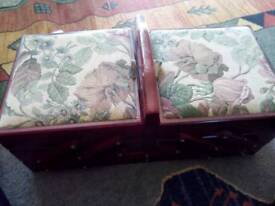 Two Tier Sewing Box