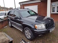 Jeep Grand Cherokee Sold for Spares or cheap Repair (LPG)