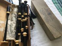 Vintage RG Lawrie Bagpipes Full I---y
