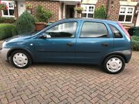 Vauxhall Corsa 1.4 auto 2002 very low mileage! 12 months mot! Still insured! AA/rac welcome!