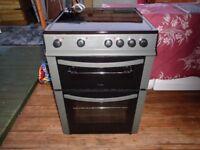 logik ceramic electric cooker 60 cm like new