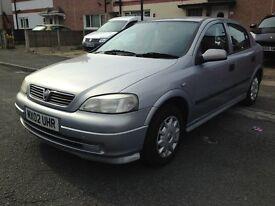 Vauxhall Astra Automatic 1.6i 8v 5 door silver hatchback+2x Keys+Service History+hpi clear for £895