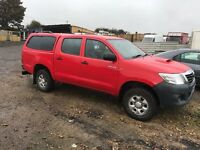 Toyota Hilux no vat