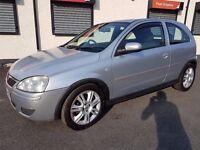 2006 Vauxhall Corsa 1.2, 12 mths MOT, 17'' Alloys