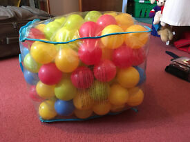 5 bags of soft balls for playing - Price reduced!