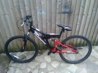 Muddyfox recoil 26 Mountain bike