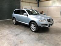 2005 Vw Touareg 2.5 tdi v6 1 owner fsh leather pristine full mot guaranteed cheapest in country