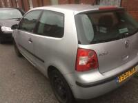 VW Polo for spare or repairs