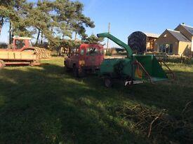Land force wood chipper.