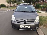 2005 TOYOTA COROLLA T3 VVTI GREY LOW MILLAGE EXCELLENT CONDITION