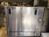 CATERING COMMERCIAL HOT FOOD WARMER CUPBOARD CAFE RESTAURANT PIZZA TAKE AWAY FAST FOOD KITCHEN SHOP