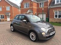 2014 FIAT 500 TWINAIR LOUNGE, MILEAGE 12000, ONE OWNER, ROAD TAX £0