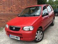 Suzuki Alto 1.1 GL 5dr GENUINE WARRANTED LOW MILEAGE