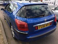 56 PEUGEOT 407 SW SE HDI ESTATE NEW MOT
